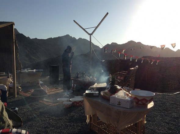 Essay about camping in the uae