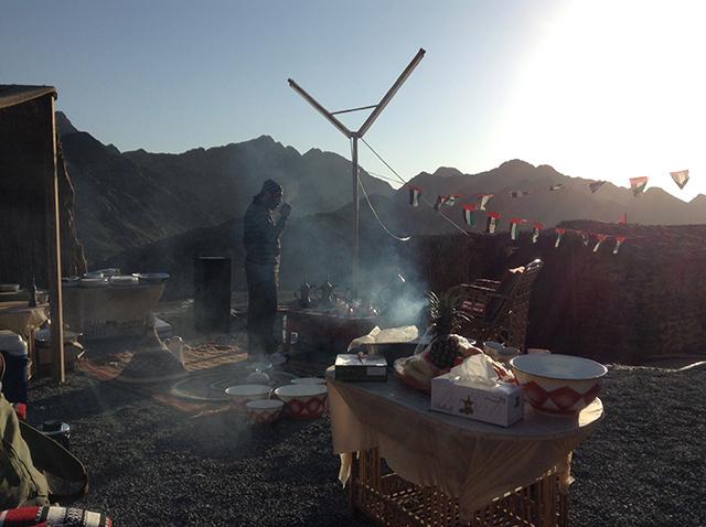 Camping in Fujairah