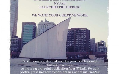 Student Creative Work Magazine: LAUNCH