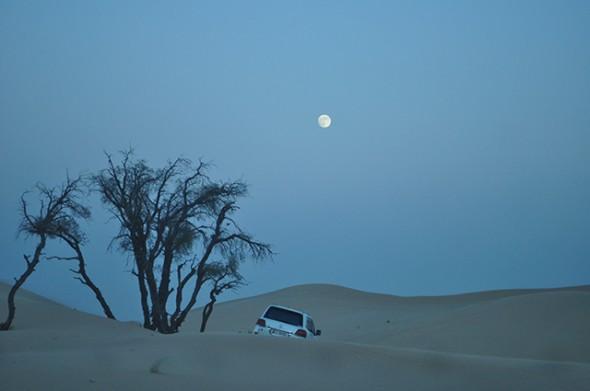 Moon Landing, Abu Dhabi Desert