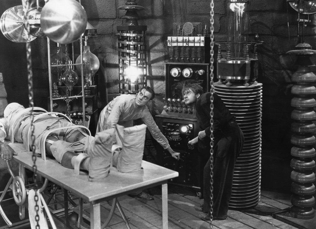 Image result for images of frankenstein's lab