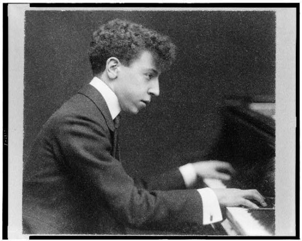 Artur Rubinstein in 1906. Courtesy: Library of Congress.