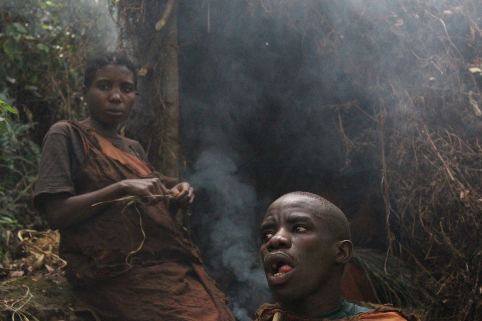 Members of the Batwa community, former inhabitants of Bwindi rainforest. Photographer: Manas Pant.
