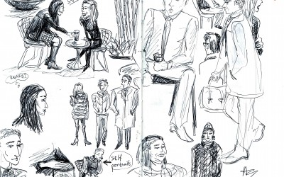 January Term Sketches from New York