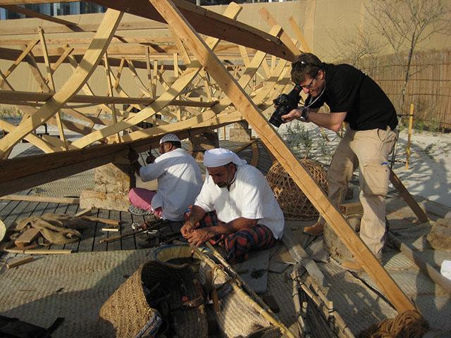 """The """"Cast"""" of Abu Dhabi's Qasr al Hosn"""