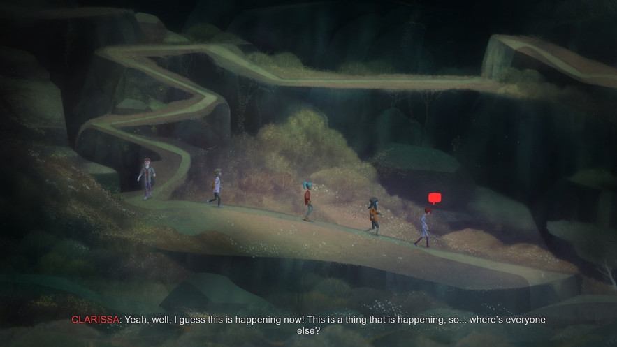 The Aesthetics of Dialogue in Oxenfree