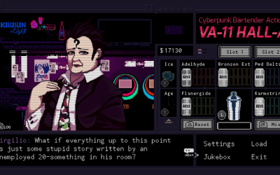 VA-11 Hall-A and the Politics of Cyberpunk